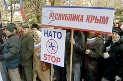 Крым хочет попрощаться с НАТО и поздороваться с Россией (ВИДЕО)