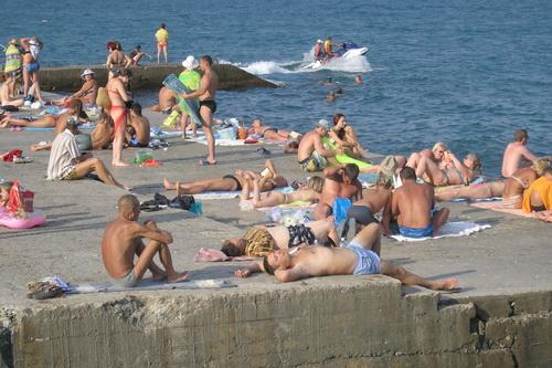Крым. 22 августа