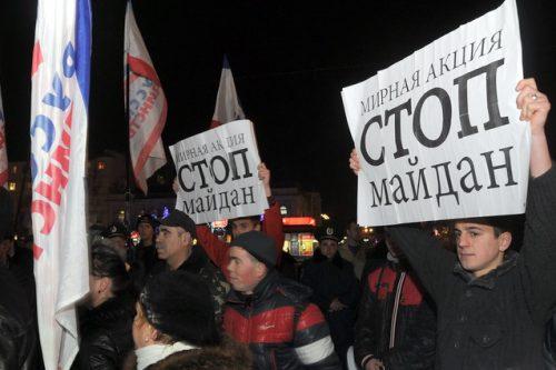 О главных пособниках беспорядков в Киеве