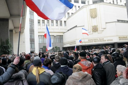 Крым. 25 февраля
