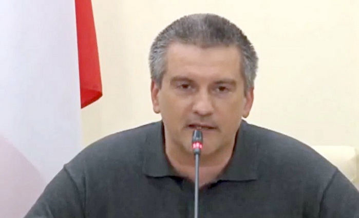 Сергей Аксенов: «Крым законными методами добьется своих законных прав»