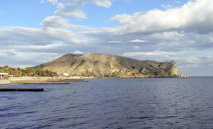Гора Алчак и полуостров Меганом