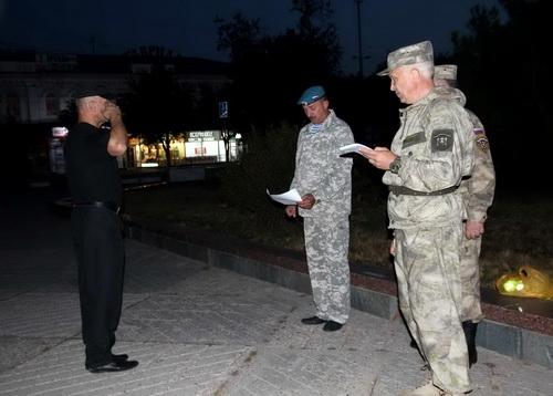 Внезапная проверка боеготовности Народного ополчения Крыма