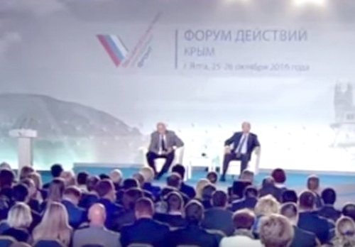 Кто подставил Владимира Владимировича в Крыму?