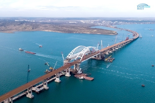 Дорожники развивают дальние и ближние автоподходы к Крымскому мосту 0 (0)