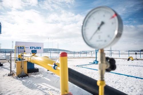 Россия дала Крыму газ