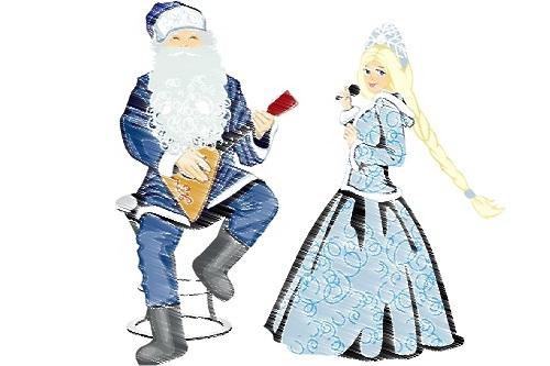 Дед Мороз с балалайкой 0 (0)