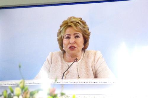 Валентина Матвиенко: Давайте и дальше вместе отстаивать Русский мир