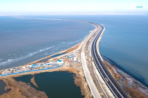 Подход к Крымскому мосту: сбойка железнодорожного тоннеля