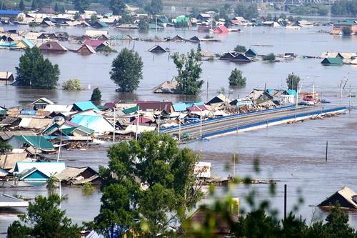 Почему затопило Тулун