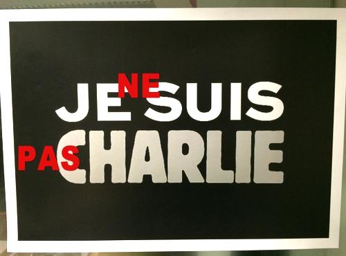 Je ne suis pas Charlie (Я не Шарли)
