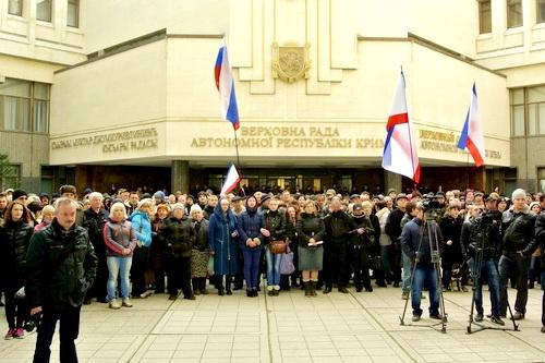 Это наше крымское Бородино,