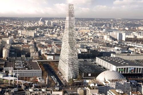 Небоскреб-треугольник построят в Париже 0 (0)