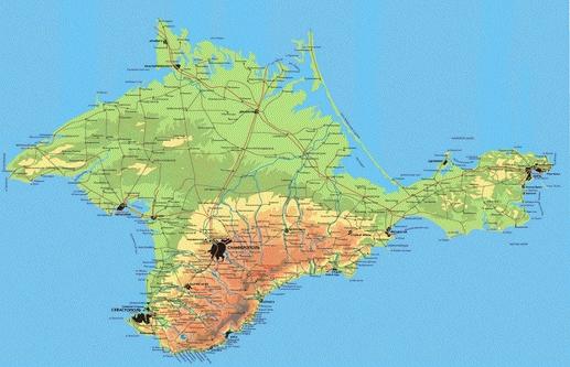 Остров Крым?