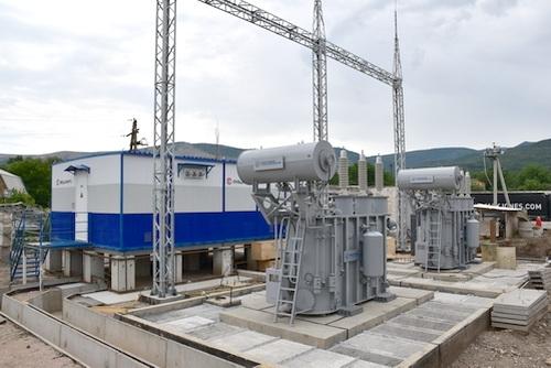 Крымэнерго строит современную подстанцию в Перевальном