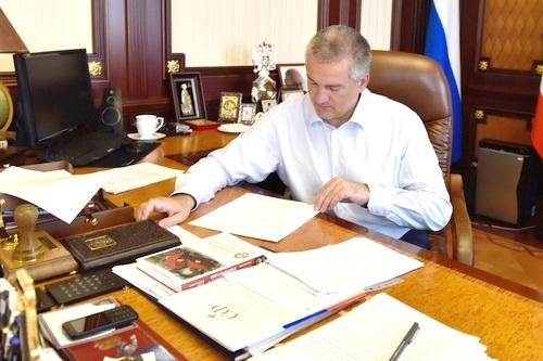 Сергей Аксёнов: готовлю новую структуру крымской власти 0 (0)
