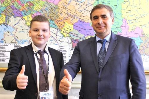Андрей Рюмшин — юнкору: Крым – это изюминка