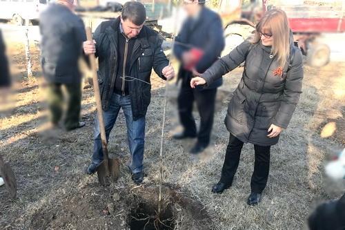 В Крыму проходит патриотическая акция Международный сад мира