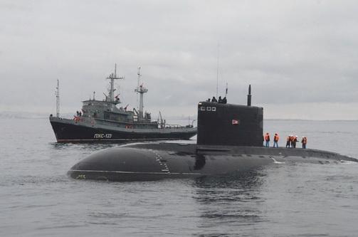 На Черноморском флоте прошло учение по поиску и оказанию помощи аварийной подводной лодке