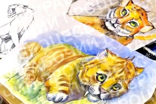 Саблезубый котенок Таврик станет символом пещеры «Таврида»