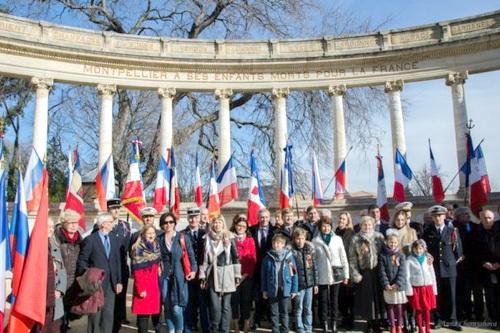 Во французском Монпелье отметили юбилей победы в Сталинградской битве