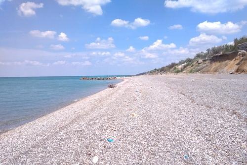 В Николаевке — чистый берег
