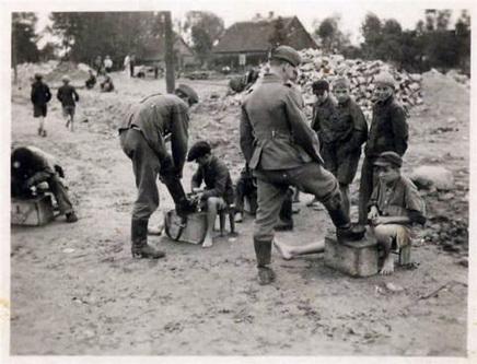 Учёба в оккупированном немецкими фашистами городе