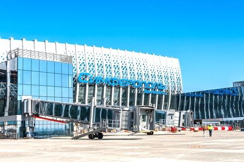Отныне в новом терминале аэропорта «Симферополь» зданием управляет автоматика