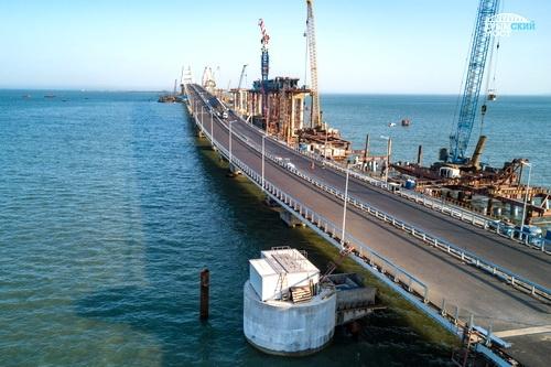 Дождевая вода с Крымского моста в акваторию не попадет