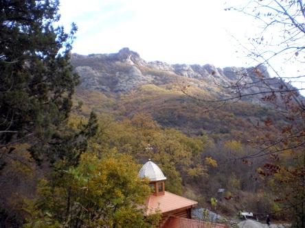 Монастырь у Краснокаменки