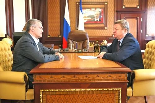 Сергей Аксёнов объяснил мотивы отставки министра транспорта РК