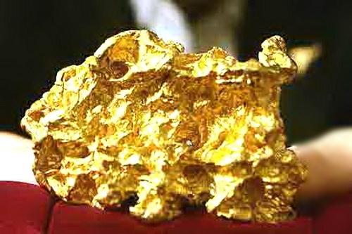 Золото как оно есть