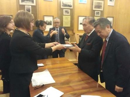 Японская делегация предложила в честь 180-летия Ялты провести фестиваль Дни японской культуры