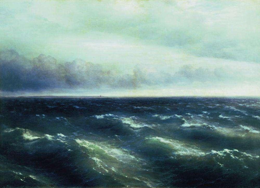 Один в открытом море