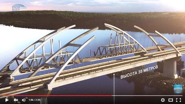 Два миллиона уже видели Крымский мост