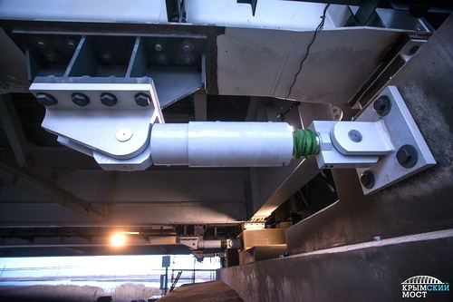 Шок-трансмиттеры защитят Крымский мост от землетрясения
