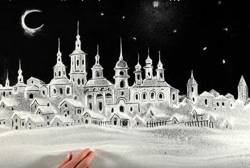 Ксения Симонова оригинально поздравила всех с Новым годом