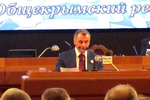 Владимир Константинов: Мы теперь точно знаем, что за нами — Россия!