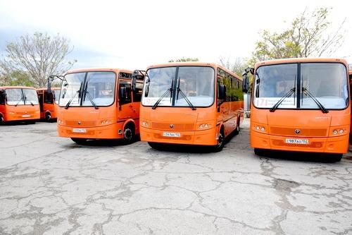 Ялта переходит на оранжевые автобусы