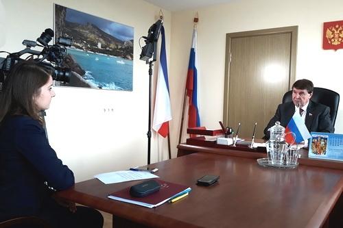 Сергей Цеков хлопочет о памятнике Пушкину в Евпатории