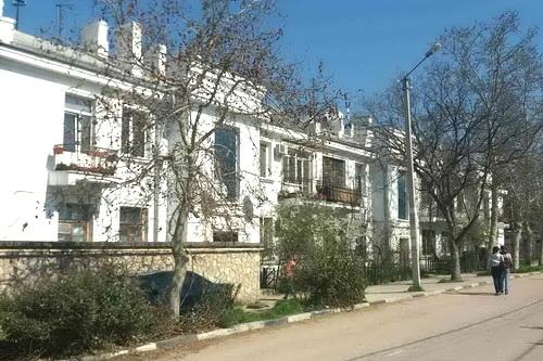 Старые дома Ялты