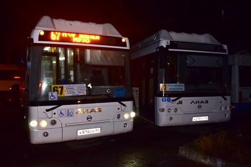 Новые автобусы вышли на городские маршруты