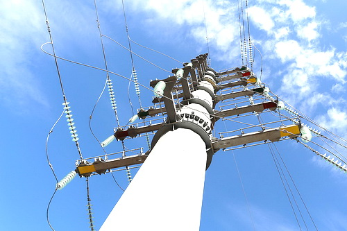 Энергетики установили в Перевальном уникальную опору 0 (0)