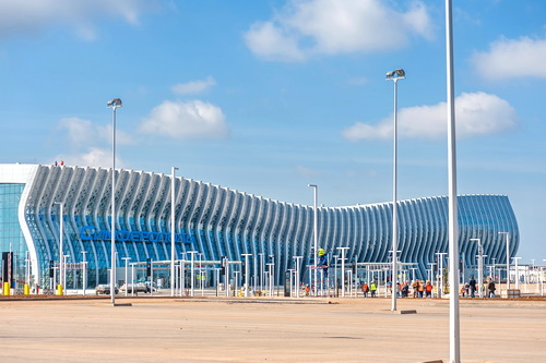Аэропорт Симферополь назвал главные цифры прошедшего года