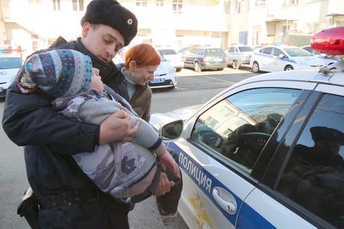 Мечтай со мной: наши полицейские исполнили мечту ребенка