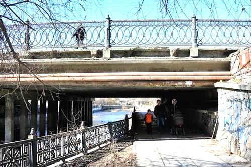 Юрий Гоцанюк обещает: мост на улице Гагарина в Симферополе будет готов в марте