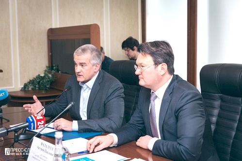 Аксенов включился в тему НОЦа мирового уровня в Крыму