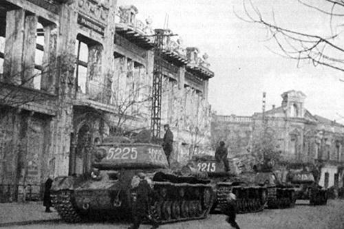 Симферополь в годы Великой Отечественной войны