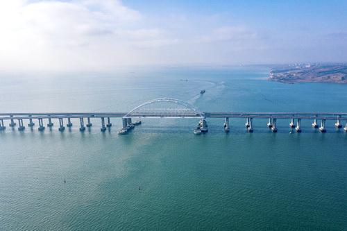 Во вторник на Крымском мосту пройдет первый грузовой поезд 0 (0)