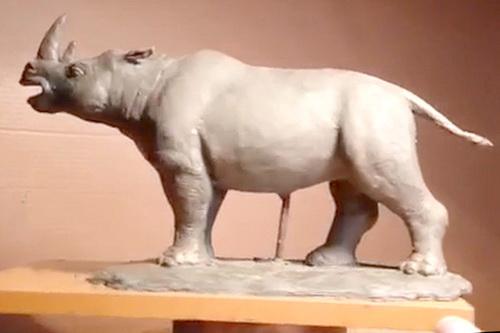 Палеонтологи обнаружили кости древнего носорога в пещере Таврида